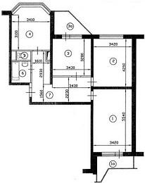 х-комнатная квартира улучшенной планировки - YouTube