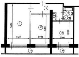 Перепланировка однокомнатной квартиры: фото и варианты