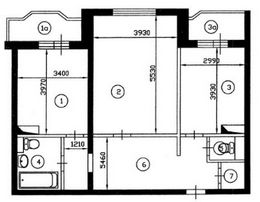 Перепланировка квартир в серии и-155 варианты перепланировок.