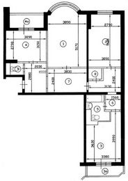 Перепланировка 3 комнатной квартиры - Правовая помощь