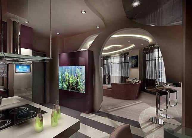 Перепланировка двухуровневой квартиры - ГСПСРУ