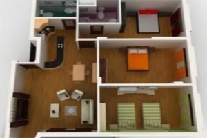 Как из 2-комнатной сделать 3-комнатную