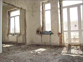 Перепланировка квартир в Южном округе с повышением нагрузки на перекрытия