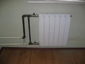 Перепланировка квартир в Южном округе с заменой и переносом радиаторов
